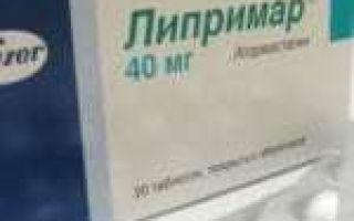 Липримар 20 мг — инструкция по применению, фармакологическое действие препарата