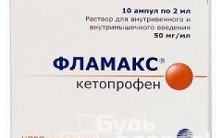 Фламакс уколы: инструкция по применению, цена и фармакологические свойства препарата