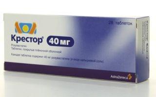 Крестор: инструкция по применению, цена в аптеке и отзывы покупателей, аналоги препарата