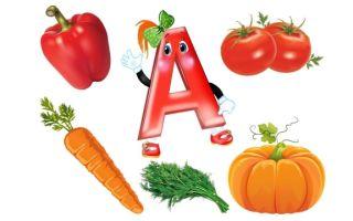 Витамин А — в каких продуктах содержится, симптомы нехватки и для чего полезен?