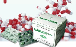 Лоперамид: инструкция по применению, цена в аптеке и отзывы, аналоги таблеток от поноса