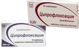 Ципрофлоксацин: инструкция по применению, аналоги, цена таблеток 500 мг и отзывы пациентов