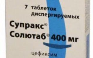 Супракс Солютаб таблетки 400 мг: инструкция по применению, цена в аптеке и отзывы, аналоги