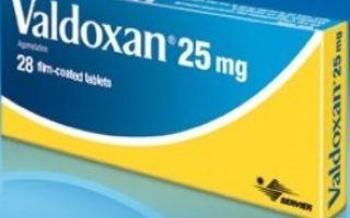 Вальдоксан: инструкция по применению, чем заменить, сколько стоит и отзывы пациентов