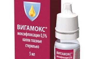 Вигамокс капли глазные: инструкция по применению, цена, аналоги и отзывы об офтальмологическом средстве