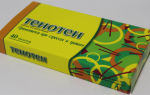 Тенотен: инструкция по применению, фармакологическое действие, показания, отзывы