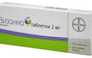 Визанна: инструкция по применению, аналоги, цена и отзывы при эндометриозе