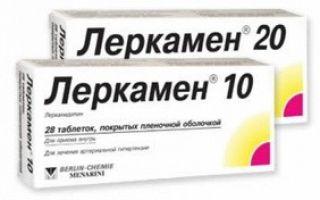Леркамен 10 — инструкция по применению, общая информация и состав препарата