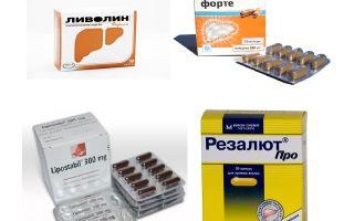 Фосфоглив Форте: инструкция по применению, аналоги капсул, цена и отзывы пациентов и врачей