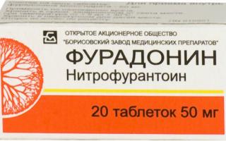 Фурадонин: инструкция по применению, аналоги таблеток, цена и отзывы