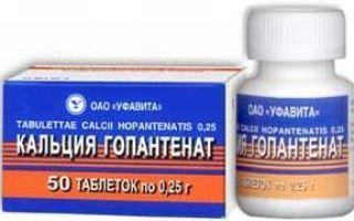 Пантогам: инструкция по применению,  аналоги таблеток, цена и отзывы о ноотропном препарат