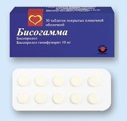 Бисогамма: инструкция по применению, цена, отзывы, аналоги таблеток Бисогамма
