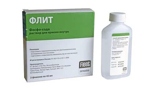 Флит Фосфо-сода: инструкция по применению, цена, отзывы