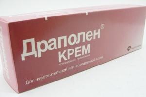 Драполен крем: инструкция по применению, цена, отзывы, аналоги