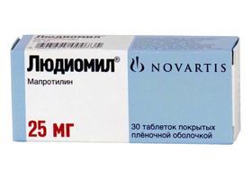 Амитриптилин Никомед 25 мг - инструкция по применению, цена, отзывы, аналоги