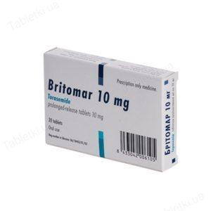 Бритомар инструкция по применению, отзывы, цена 5 и 10 мг, аналоги