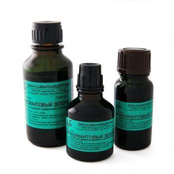 Бриллиантового зеленого раствор спиртовой (зеленка): инструкция по применению, отзывы