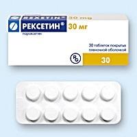 Рексетин: инструкция по применению, цена, отзывы, аналоги таблеток Рексетин