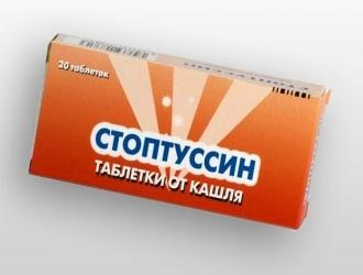 Стоптуссин: инструкция по применению, цена, отзывы, аналоги таблеток Стоптуссин