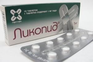 Ликопид: инструкция по применению, цена, отзывы, аналоги таблеток Ликопид