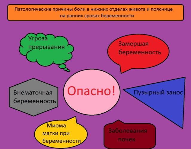 Боль внизу живота у женщин внизу справа, причины тянущих, резких, колющих болей справа