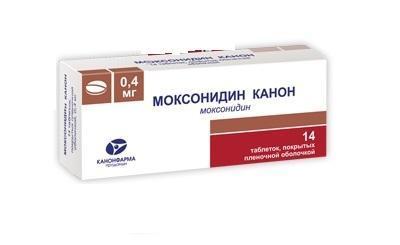 Моксонидин: инструкция по применению, при каком давлении принимать, цена, отзывы, аналоги
