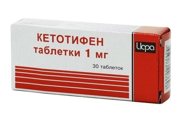 Кетотифен: инструкция по применению, цена, отзывы, аналоги таблеток Кетотифен