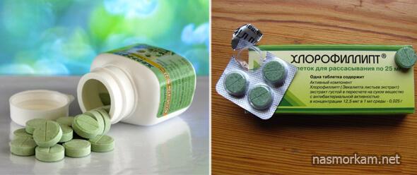 Хлорофиллипт таблетки для рассасывания: инструкция по применению, цена, отзывы, аналоги