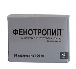 Фенотропил: инструкция по применению, цена, отзывы, аналоги таблеток Фенотропил