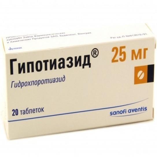 Гипотиазид: инструкция по применению, цена, отзывы, аналоги таблеток Гипотиазид