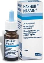 Називин: инструкция по применению, цена, отзывы, аналоги капель в нос Називин