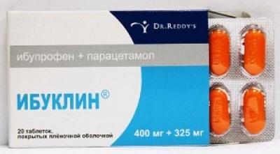 Таблетки взрослым Ибуклин - от чего помогает, инструкция по применению, цена, отзывы