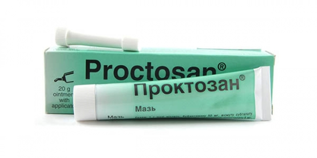 Проктозан мазь: инструкция по применению, цена, отзывы, аналоги