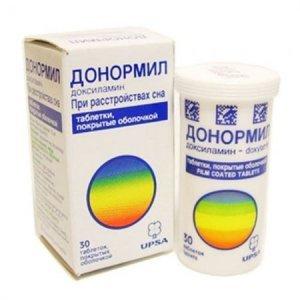 Донормил: инструкция по применению, цена, отзывы, аналоги таблеток Донормил