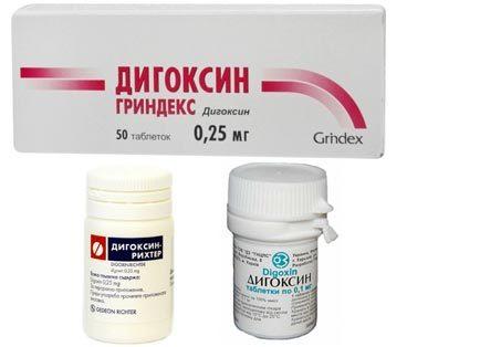 Дигоксин: инструкция по применению, цена, отзывы, аналоги таблеток Дигоксин