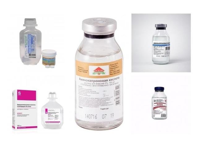 Аминокапроновая кислота: инструкция по применению, цена, отзывы, аналоги Аминокапроновой кислоты
