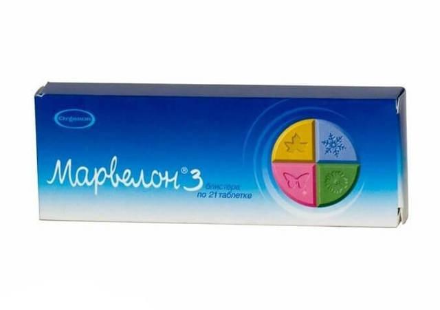 Марвелон: инструкция по применению, цена, отзывы, аналоги таблеток Марвелон