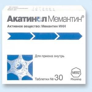 Акатинол Мемантин: инструкция по применению, цена, отзывы, аналоги