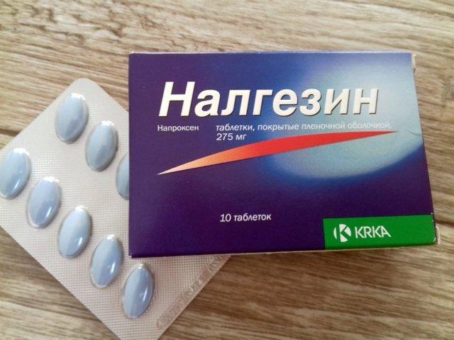 Налгезин: инструкция по применению, цена, отзывы, аналоги таблеток Налгезин