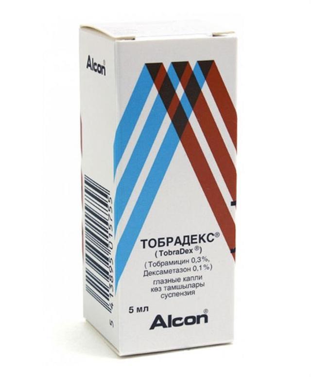 Тобрадекс глазные капли: инструкция по применению, цена, отзывы, аналоги