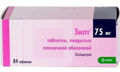 Зилт 75 мг - инструкция по применению, цена, отзывы, аналоги