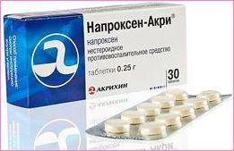 Напроксен Акри: инструкция по применению, цена, отзывы, аналоги таблеток Напроксен Акри