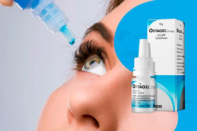 Офтагель: инструкция по применению, цена, отзывы, аналоги глазных капель Офтагель