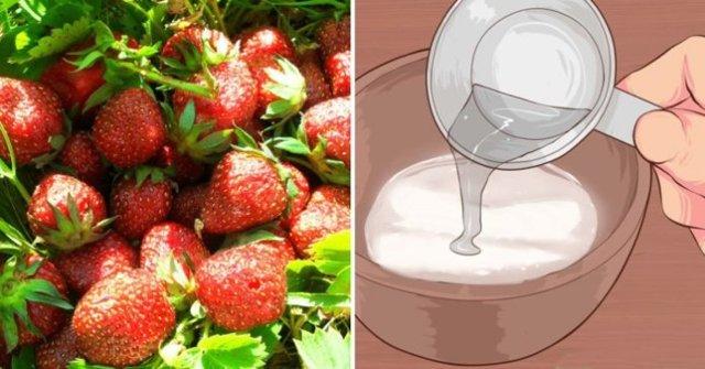 Почему нужно мыть фрукты и овощи с содой?