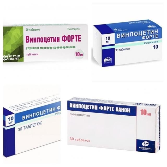 Винпоцетин-форте: инструкция по применению, показания, цена, отзывы, аналоги