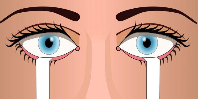 Синдром сухого глаза: симптомы и лечение, препараты, причины заболевания