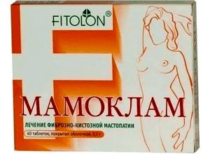 Мамоклам: инструкция по применению, цена, отзывы, аналоги таблеток Мамоклам