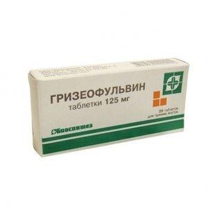 Гризеофульвин: инструкция по применению, цена, отзывы, аналоги таблеток Гризеофульвин