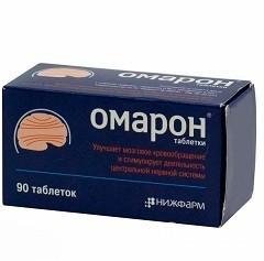 Омарон: инструкция по применению, цены, отзывы, аналоги таблеток Омарон