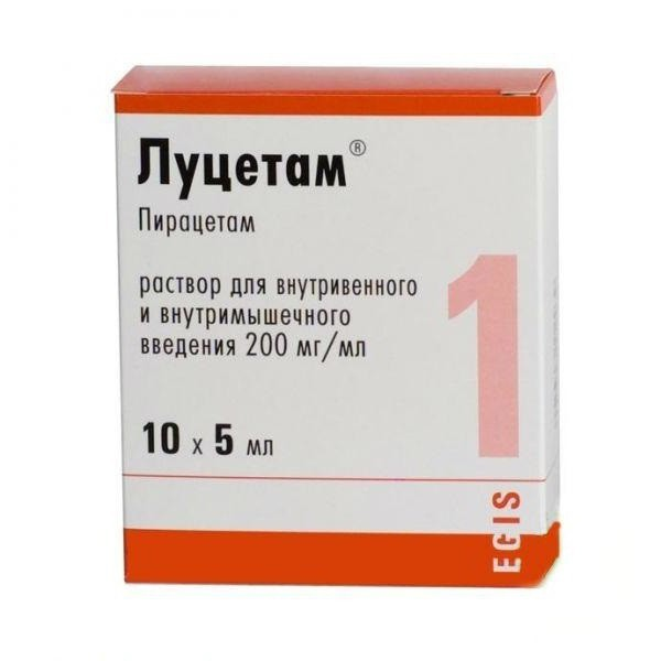 Луцетам: инструкция по применению, цена таблеток 800 и 1200 мг, отзывы, аналоги